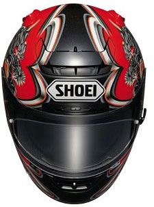 Shoei X-Spirit / X-Eleven Kiyonari TC-1 Red Helmet