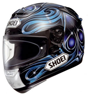 Shoei X-Spirit Vermeulen TC-2 Blue Helmet