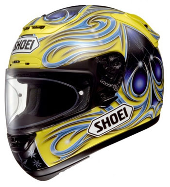 Shoei X-Spirit Vermeulen TC-3 Yellow Helmet