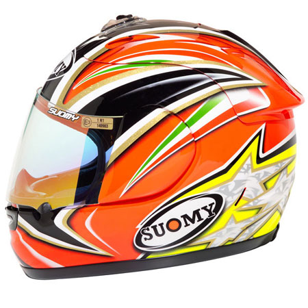 Suomy Spec 1R Capirossi Full Face Replica Helmet