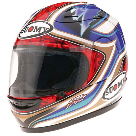 Suomy 1R Bautista Replica Helmet 2008 Design