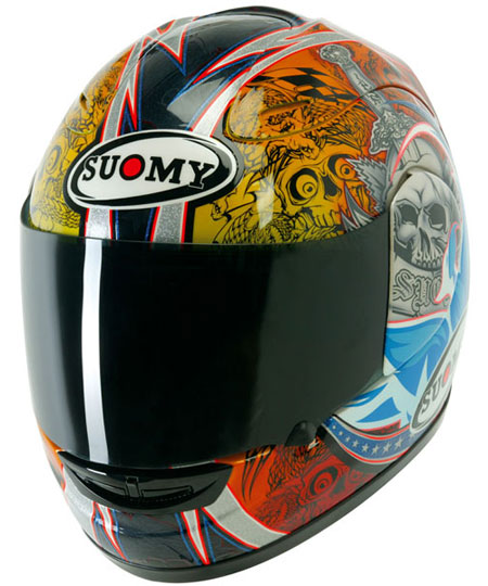 Suomy Spec 1R Bostrom Full Face Replica Helmet