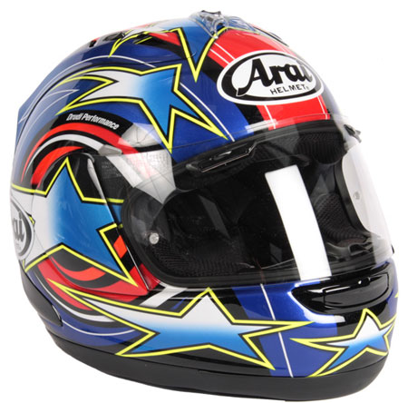Arai RX-7 GP Colin Edwards 2009 Helmet