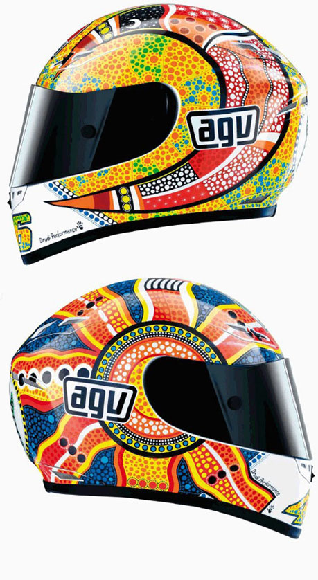AGV GP Tech Rossi Dreamtime Helmet