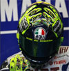 AGV GP Tech Valentino Rossi Mugello 2009 Hands on Head Helmet