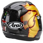 Arai Chaser Leon Haslam - World Cup replica helmet (limited edition)